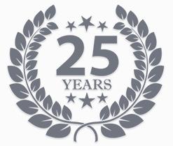 25 year anniversary