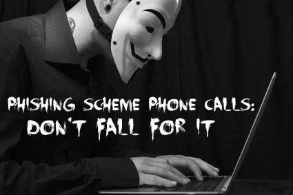 Phishing-Scheme-Phone-Calls
