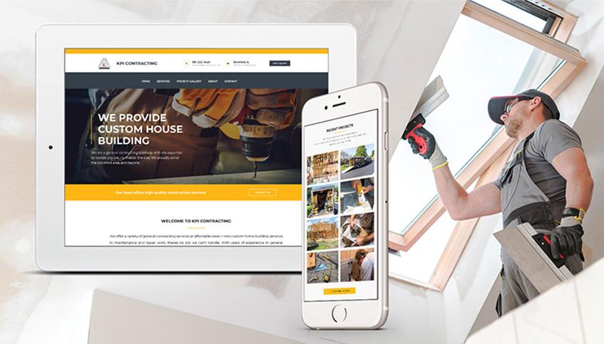 custom website design in rockford